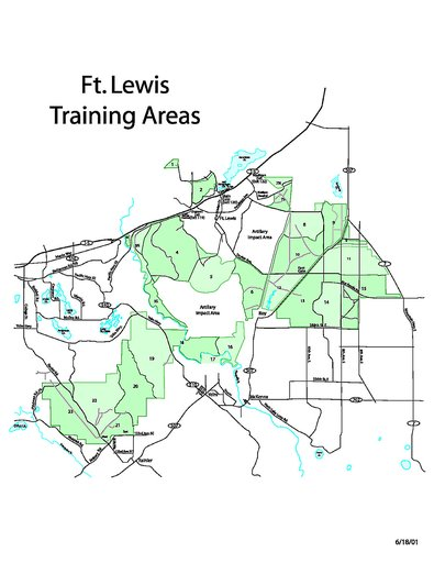 Joint Base Lewis Mcchord Map : joint, lewis, mcchord, Lewis, Training, Areas, Maplets