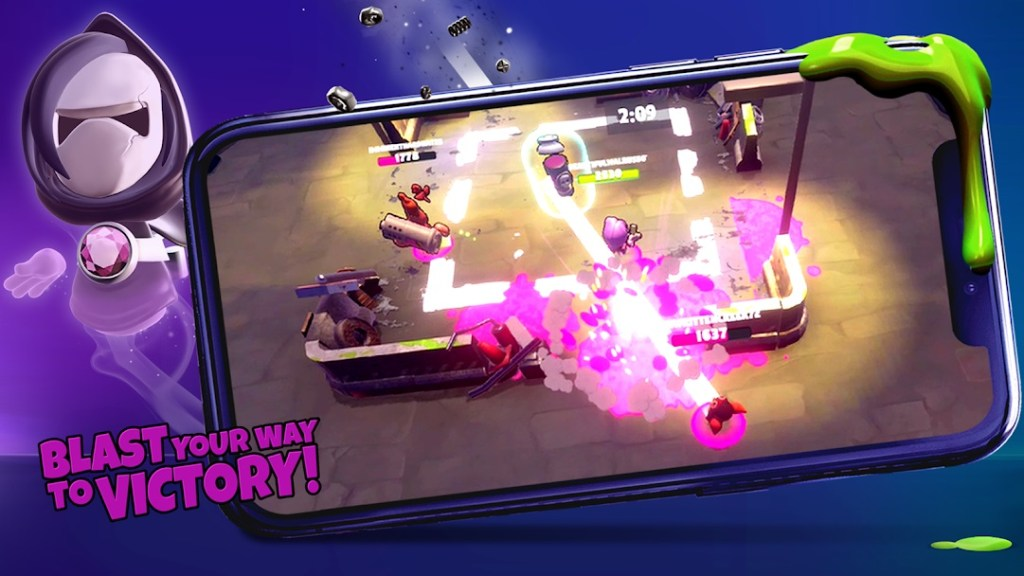 Download Battle Blobs: 3 vs 3 Multiplayer