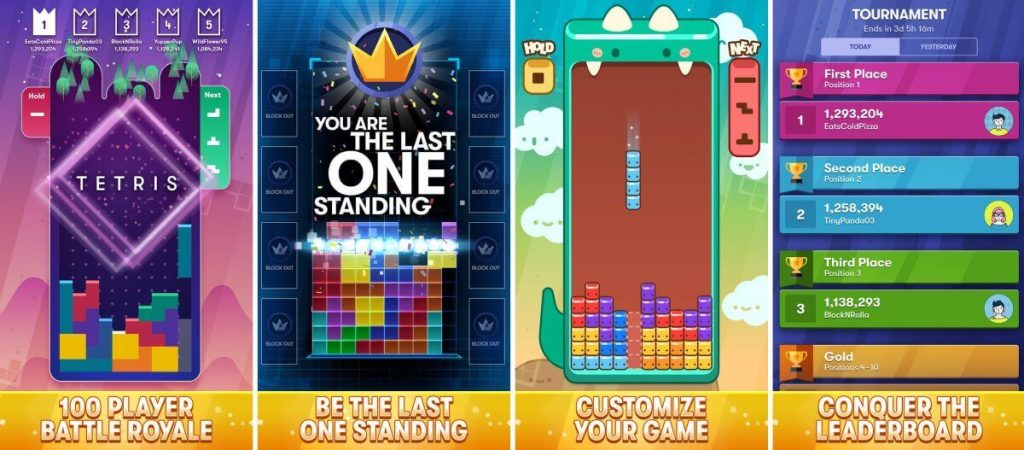Download And Play Tetris Royale Mobile Game