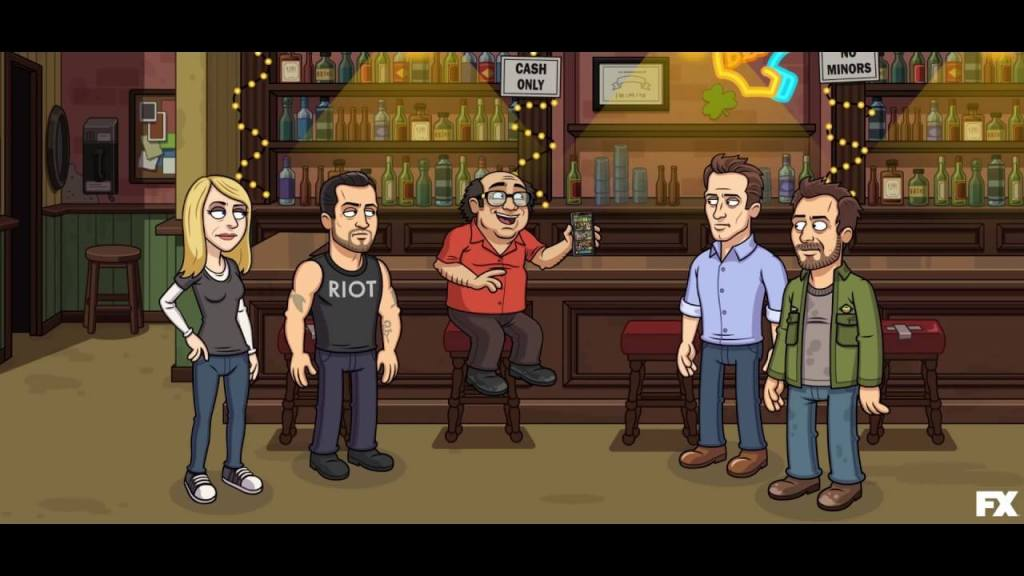 It's Always Sunny: The Gang Goes Mobile has been Released by East Side Games Studio