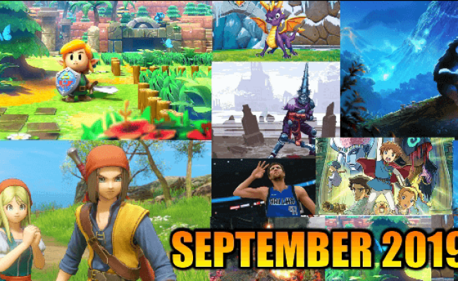 Best Upcoming Nintendo Switch Games Of September 2019