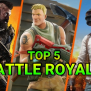 Top 5 Mobile Battle Royale Games Of 2019 Mobile Mode Gaming