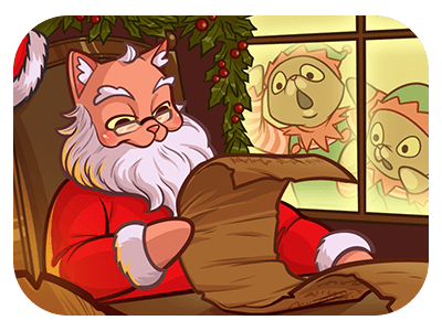 Christmas advise from AFK Cats? Ditch the cleaning, join the guild and fight against the vacuum cleaner in new seasonal event!