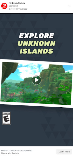 Nintendo Switch's New Pokemon Snap ad