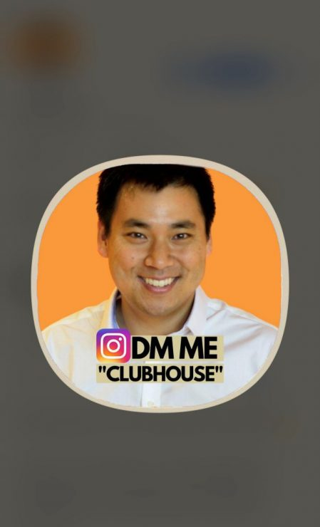 Larry Kim's profile on Clubhouse for Android and iOS