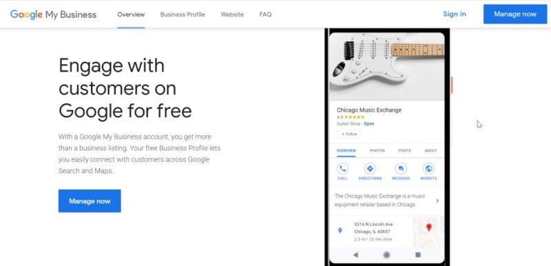 Google My Business: Free Advertising