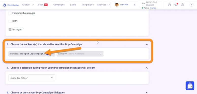 Instagram Direct Message Marketing: Drip Campaign audience