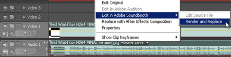 Round Trip Editing From Premiere to Soundbooth