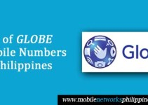 List of Globe Mobile Numbers in the Philippines