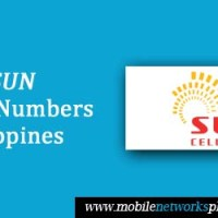 List of Sun Cellular Mobile Numbers in Philippines