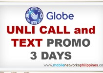 GOUNLI80 Globe Unli Call and Text 3 Days Promo