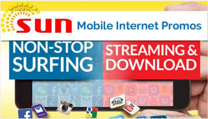 Sun Cellular Internet Promos