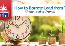 How to Borrow Load from TM - Utang Load-Promo