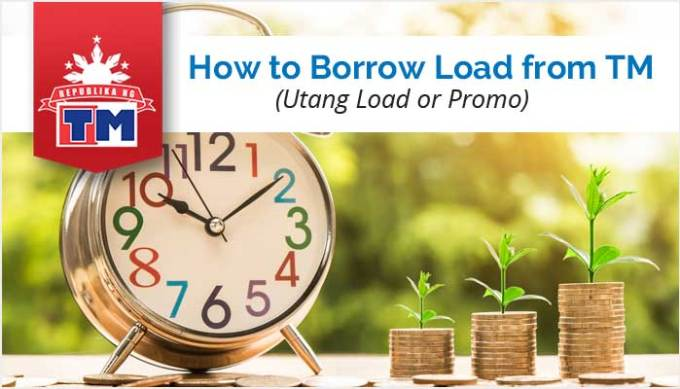 How to Borrow Load from TM - Utang Load-Promo