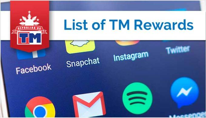 List of TM Rewards