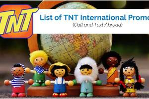 List of TNT International Promos