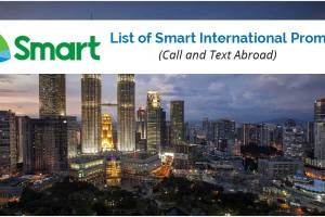 List of Smart International Promos