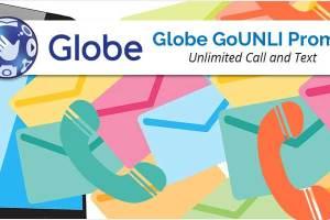 Globe GoUNLI Promo 2018