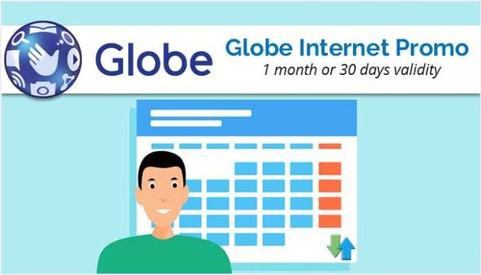 Globe Internet Promo for 1 Month