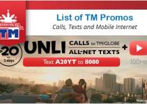 List of TM Promos 2020