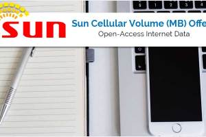 Sun Cellular Internet Data Volume (MB) Offers