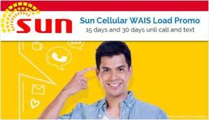 Sun Cellular Wais Promo
