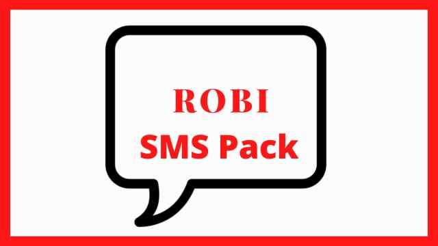 Robi SMS Pack