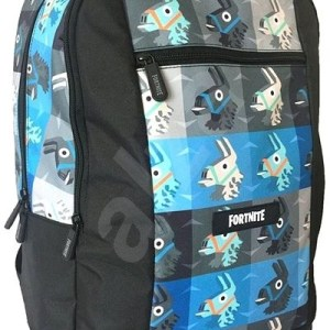 Fortnite Backpack modro čierny