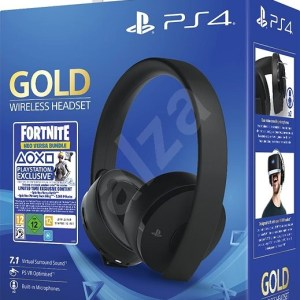 Sony-PS4-Gold-Wireless-Headset-Black-Fortnite