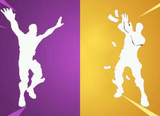 Postavy znázorňujúce Fortnite dances