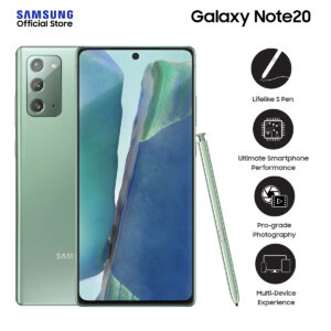 """Samsung Galaxy Note20 FREE Galaxy Buds Live worth P8,990 and Silicone Cover - 8GB RAM - 256GB ROM - 6.9"""" WQHD+ - Android Smartphone"""