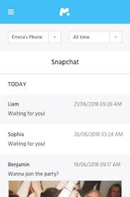 Part 1. How to Spy on Someone's Snapchat by Using PhoneSpying Snapchat Spy Free