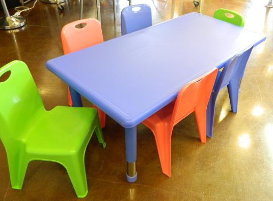 renting tables and chairs high back swivel rocker patio mobile popcorn party rentals 7 piece kids table chair set rental