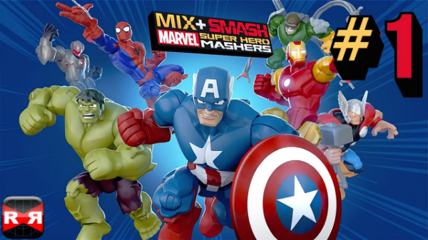 game marvel android: Marvel Mix+Smash