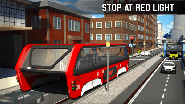 game simulasi android: Transit Elevated Bus Simulator