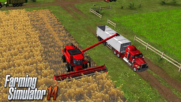 Farming Simulator 14 Android Tycoon Game