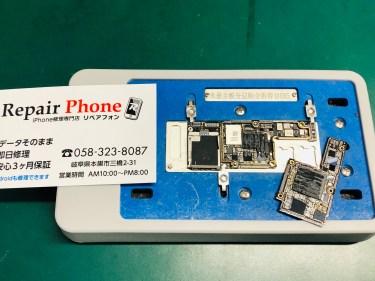 iPhone Xs 基板修理 急に電源が入らない