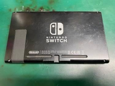 任天堂 Switchの修理 充電できない 充電器を挿しても反応しない