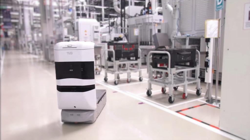 Robot móvil Aethon