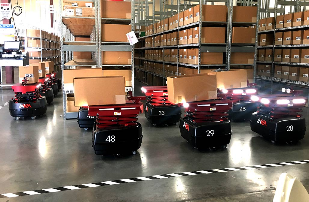 InVia Rakutan warehouse