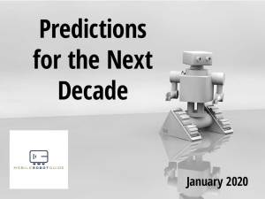 Predictions for 2020 with mobile robot