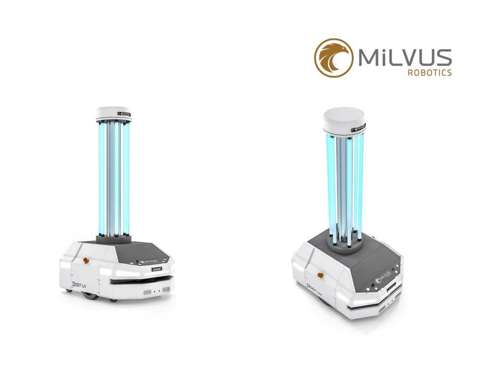 Milvus SEIT-UV robots
