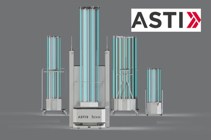 ASTi lineput of UV Disinfection Devices