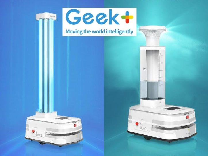 GeekPlus Disinfection Robots