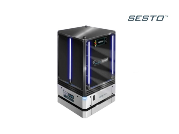 Sesto Health Guard robot