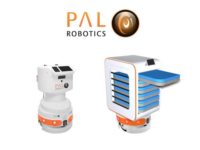Pal Robotics robots come in a variety of configurations as shown in this image.