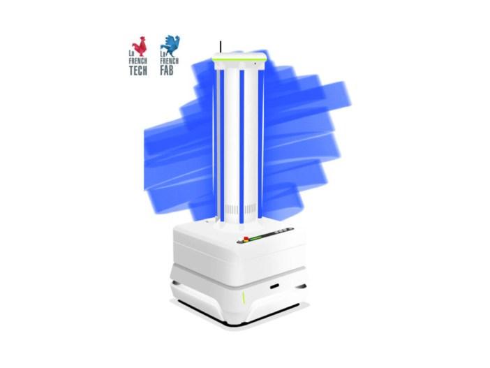 e-cobot husky UV robot image