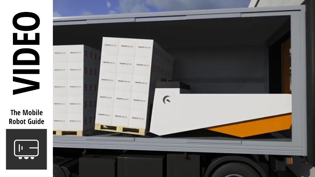 Image for TRAPO Automatic loading and unloading for trucks and containers