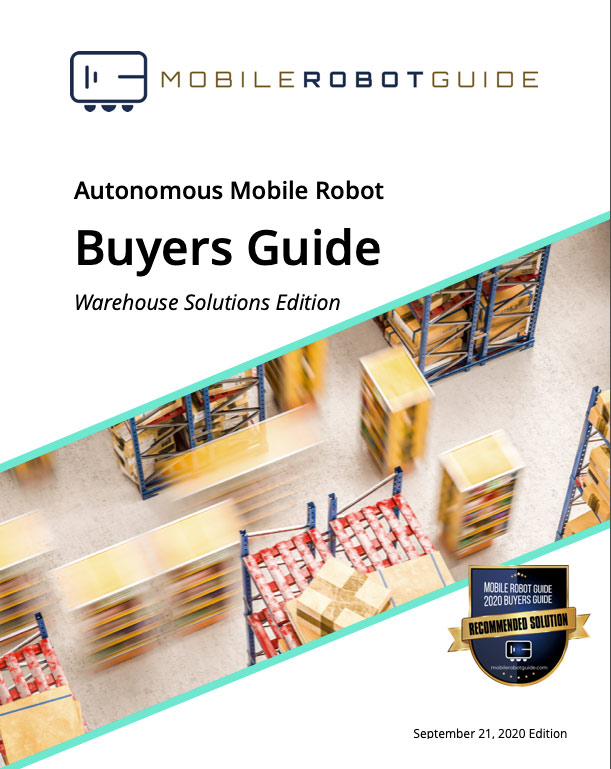 Mobile Robot Guide Warehouse Solutions Buyers Guide Cover Screenshot