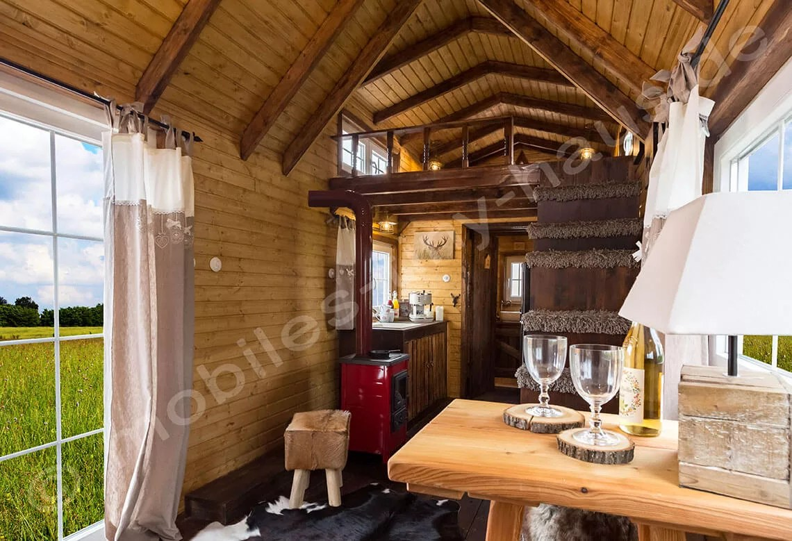 hight resolution of kitchen area and view inside bathroom wooden house sweden
